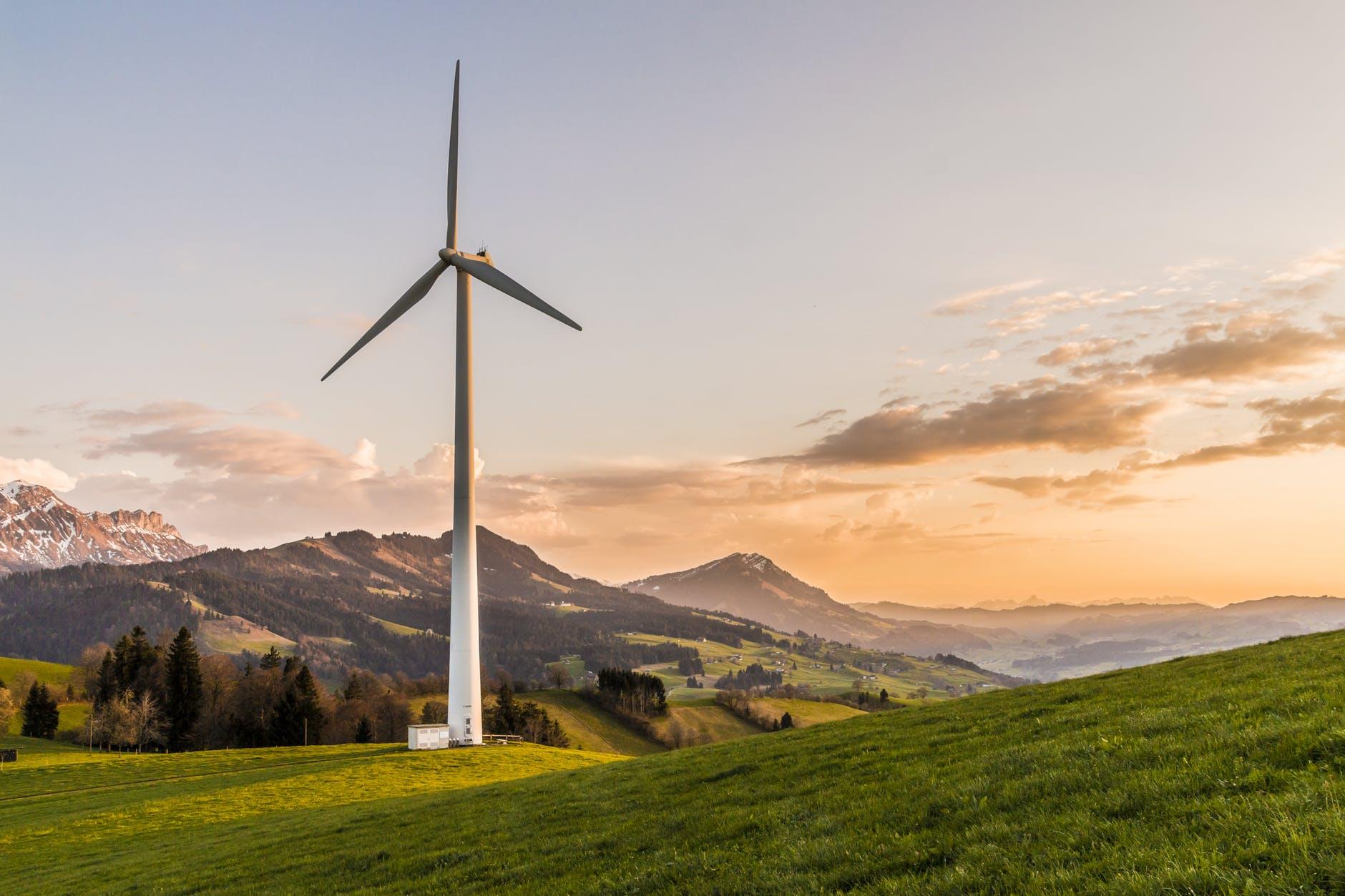 En vindmølle